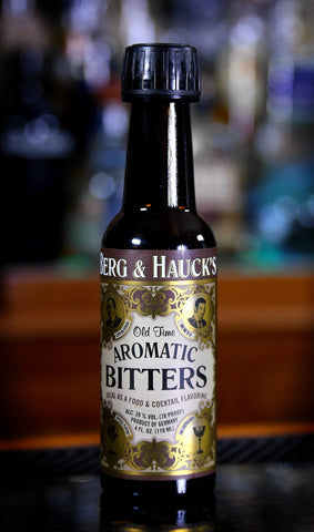 Berg & Hauck's Old Time Aromatic Bitters, 4 oz