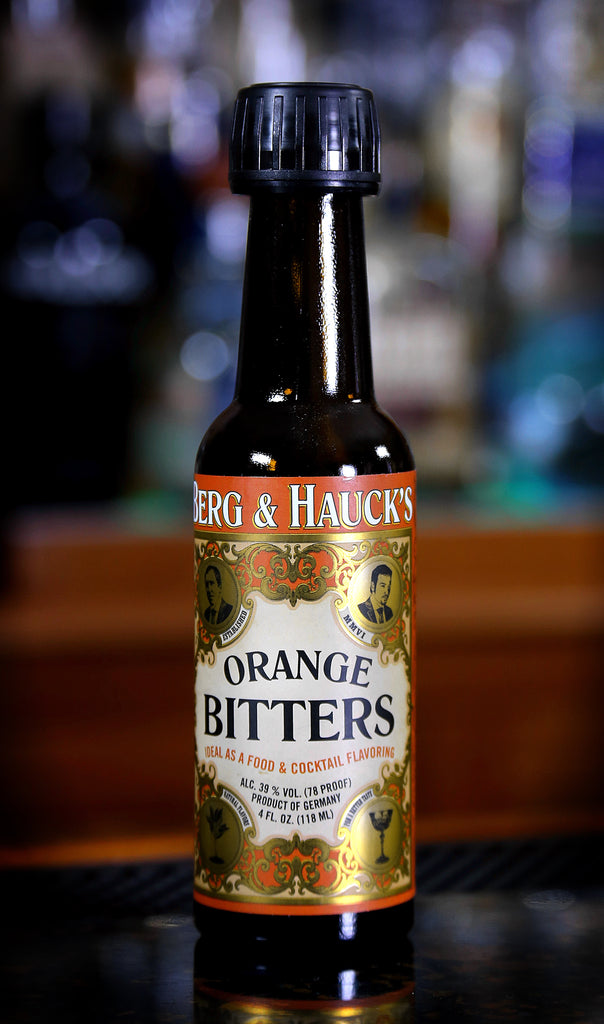 Berg & Hauck's Orange Bitters, 4 oz