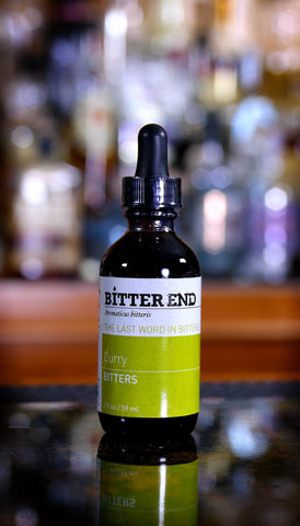 Curry Bitters, Bitter End, 2 oz