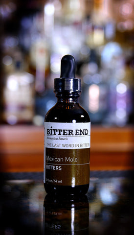 Mexican Mole Bitters, Bitter End, 2 oz