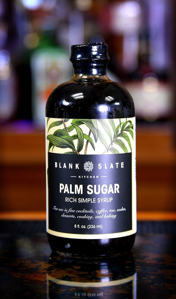Palm Sugar Rich Simple Syrup by Blank Slate Kitchen, 8 oz