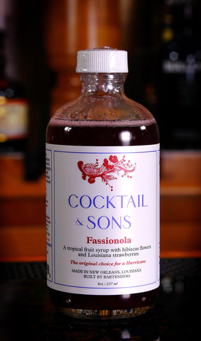 Cocktail & Sons Fassionola Syrup, 8 oz