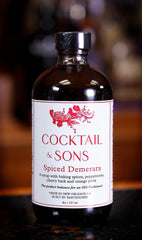 Spiced Demerara Syrup by Cocktail & Sons, 8 oz