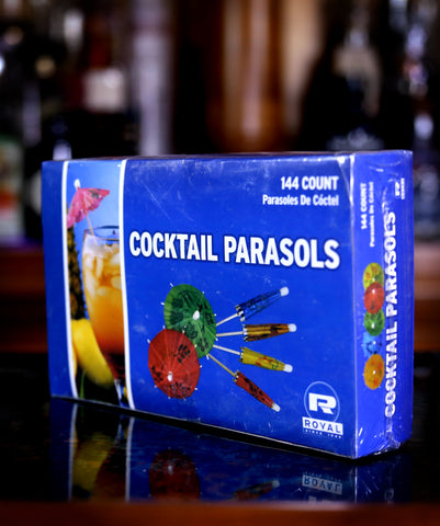 Cocktail Parasols / Umbrella Garnish Picks