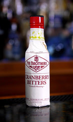 Fee Brothers Cranberry Bitters, 5 oz. Bottle
