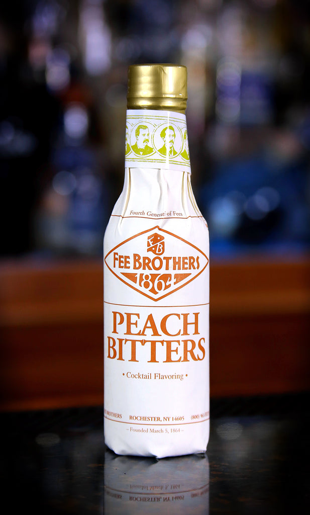 Fee Brothers Peach Bitters - 5 oz. Bottle