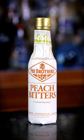 Fee Brothers Peach Bitters, 5 oz