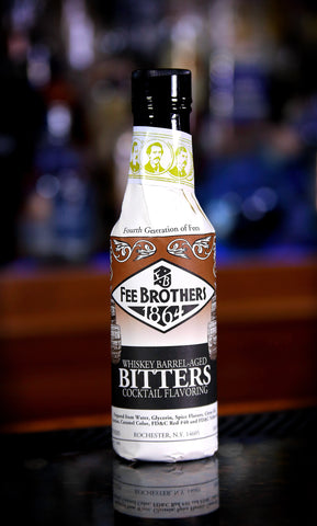 Fee Brothers Whiskey Barrel-Aged Aromatic Bitters, 5 oz