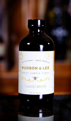 Hudson & Lee Honey Mix / Simple Syrup, 8 oz