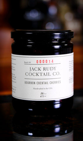 Jack Rudy Bourbon Cocktail Cherries, 16 oz