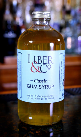 Classic Gum Syrup by Liber & Co. / Gomme Syrup