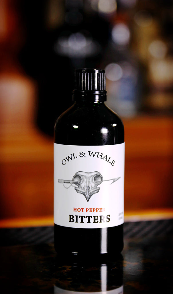 Owl & Whale Hot Pepper Bitters, 100 ml