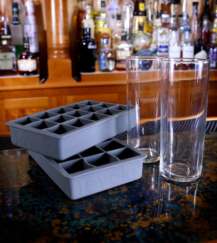 Collins Glass & Ice Tray Combo Kit