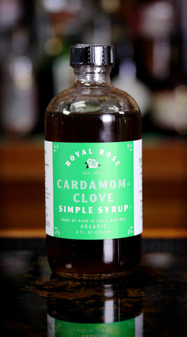 Cardamom Clove Simple Syrup, by Royal  | USDA Certified Organic