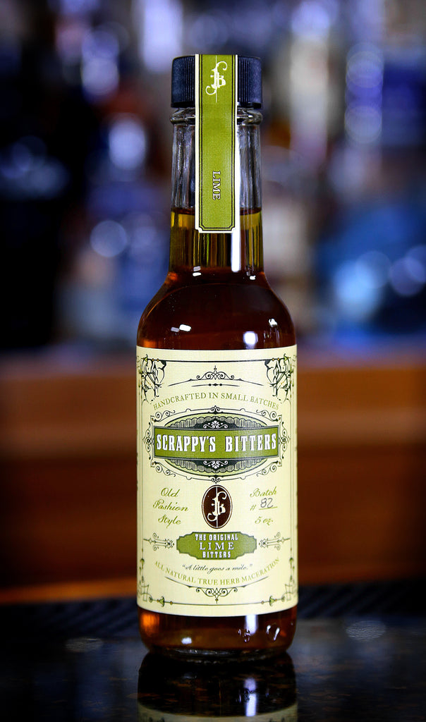 Scrappy's Lime Bitters, 5 oz