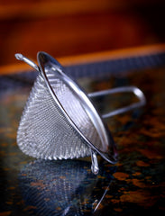 "2.5"" Conical Stainless Steel Tea Strainer"