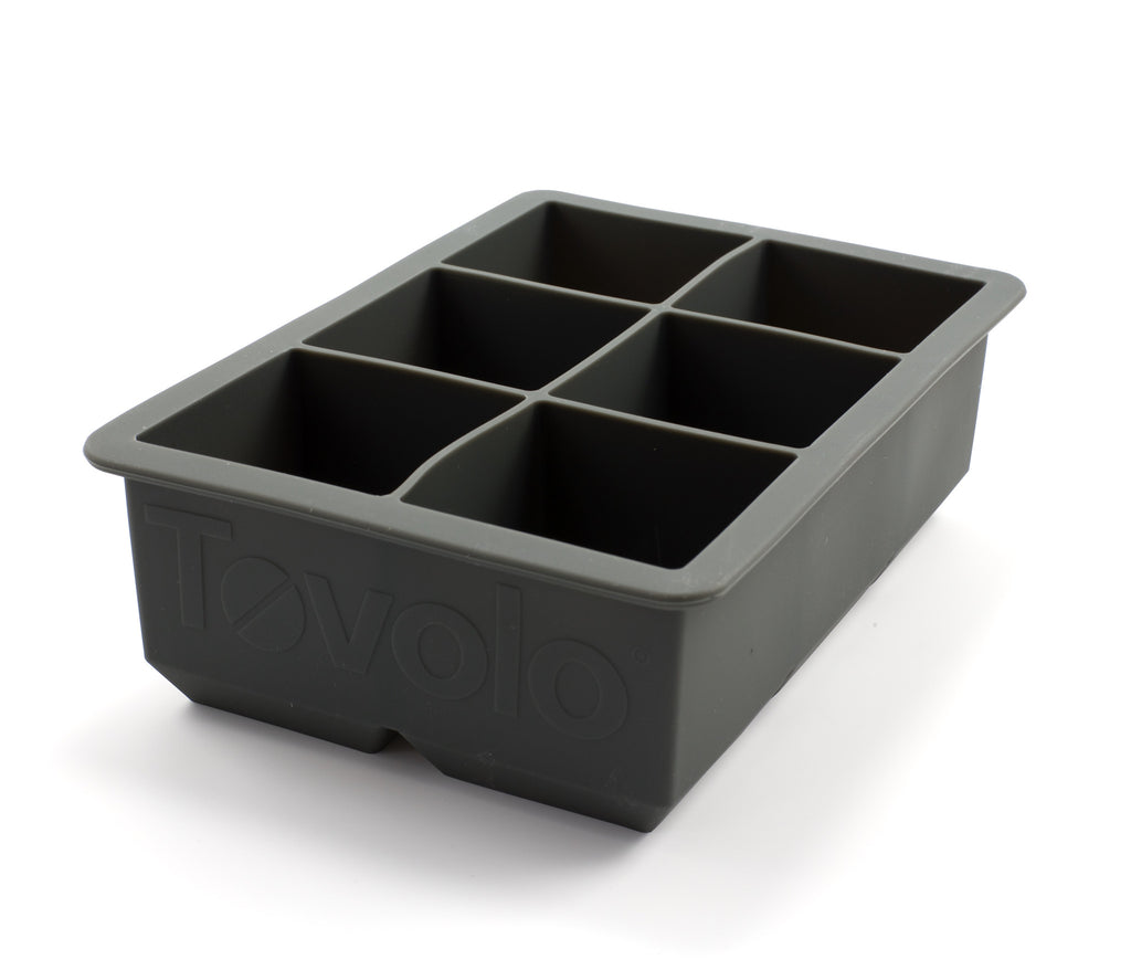 Tovolo King Cube Tray - Charcoal