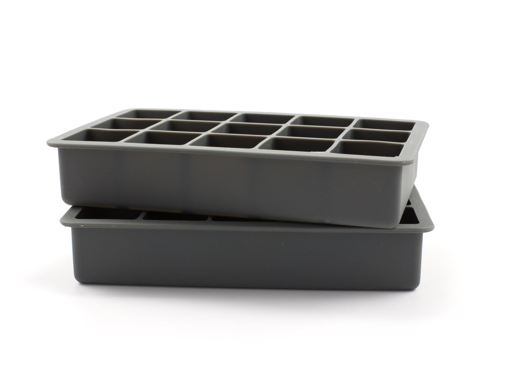 Tovolo Perfect Ice Cube Trays - Charcoal