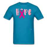(Cancer Awareness) Men's T-Shirt - #TEAMGAINZZ