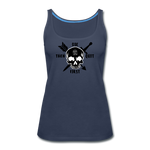 Women's Premium Tank Top - navy