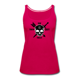 Women's Premium Tank Top - dark pink