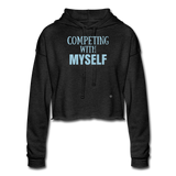 Women's Cropped Hoodie - #TEAMGAINZZ