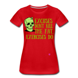 Women's Premium T-Shirt - red