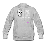 Women's Hoodie - heather gray
