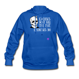 Women's Hoodie - royal blue
