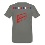 Men's Premium T-Shirt - asphalt gray