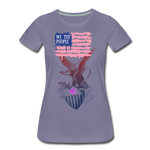 Women's Premium T-Shirt - washed violet