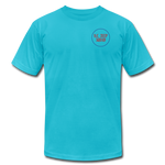 Unisex Jersey T-Shirt by Bella + Canvas - turquoise