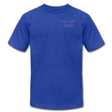 Unisex Jersey T-Shirt by Bella + Canvas - royal blue