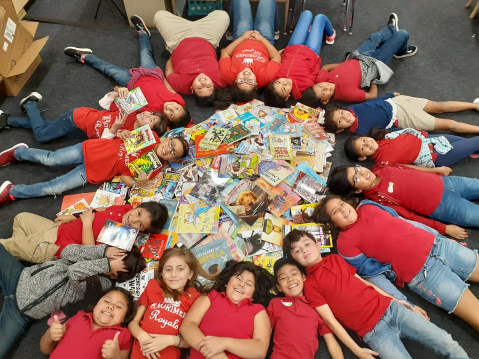 Book Love Foundation grant winner - elementary students