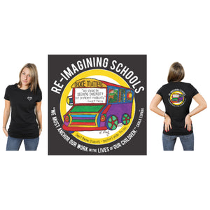 Book Love Foundation T-Shirt : Re-Imagining Schools