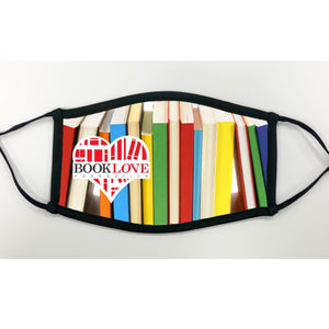 Book Love Foundation Face Mask - Books