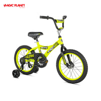"KENT - Yellow 16"" Boys Bike"