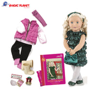 Our Generation Doll 18-inch Audrey Ann With Book