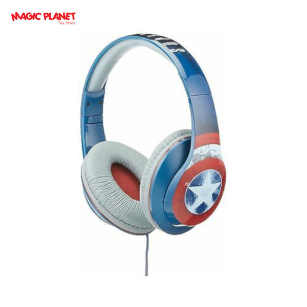 iHome Marvel Avengers Over The Ear Headphones Built In Microphone