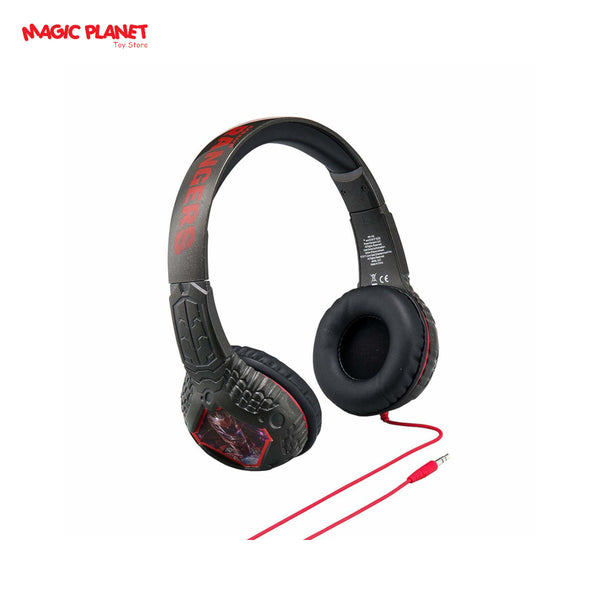 eKids Power Rangers Morphing Lenticular Headphone