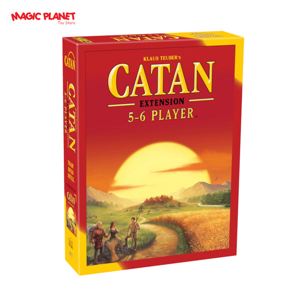 Catan: 5-6 Player Extension Strategy Board Game