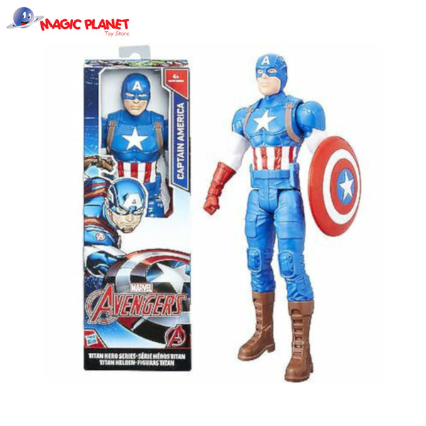 Titan Hero Series Captain America 12 inch Action Figure