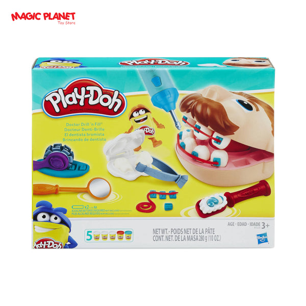 Play-Doh Doctor Drill 'N Fill Set with 5 Cans of Dough
