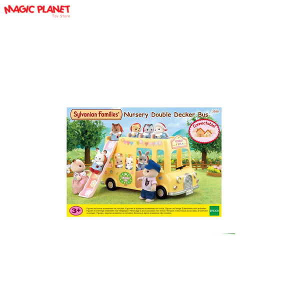 SYLVANIAN FAMILIES -Nursery Double Decker Bus