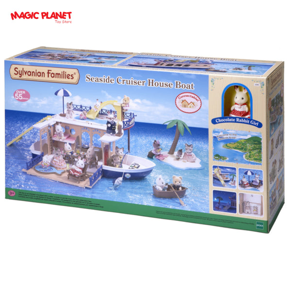 SYLVANIAN FAMILIES - Seaside Cruiser House Boat
