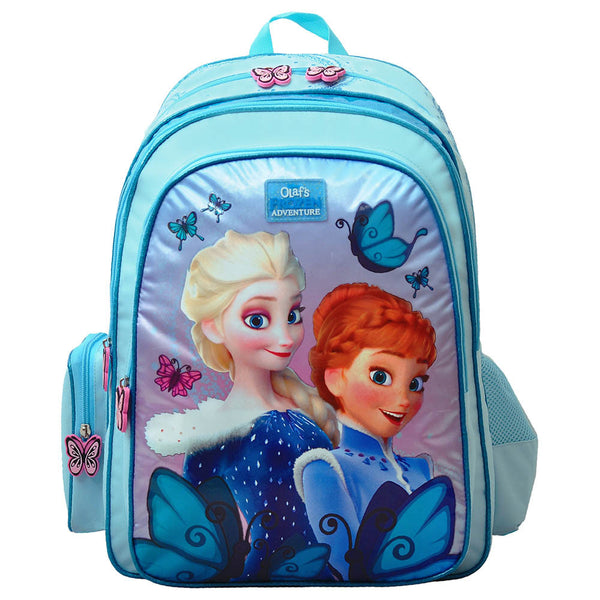 "Disney - Frozen Elegancy Backpack 18"" - Blue"