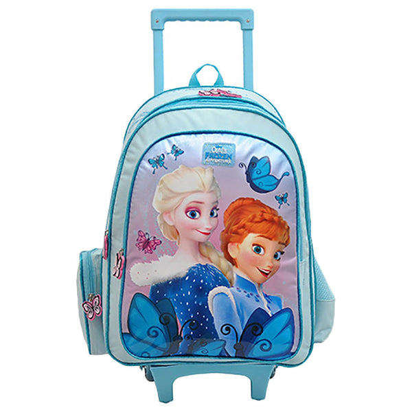"Disney - Frozen Elegancy Trolley Bag 18"" - Blue"