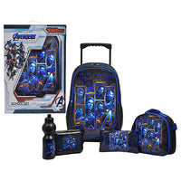 "Avengers - Full Team Promotion Trolley Bag 18"" School Set"