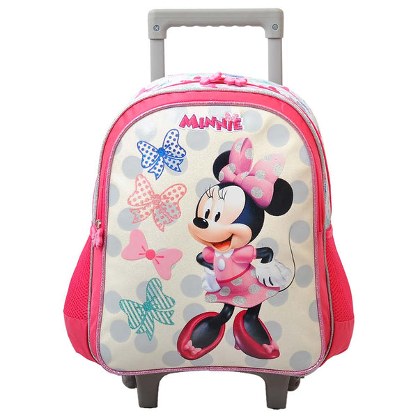 "Disney - Minnie Proud To Me 14"" Trolley Bag - Pink"