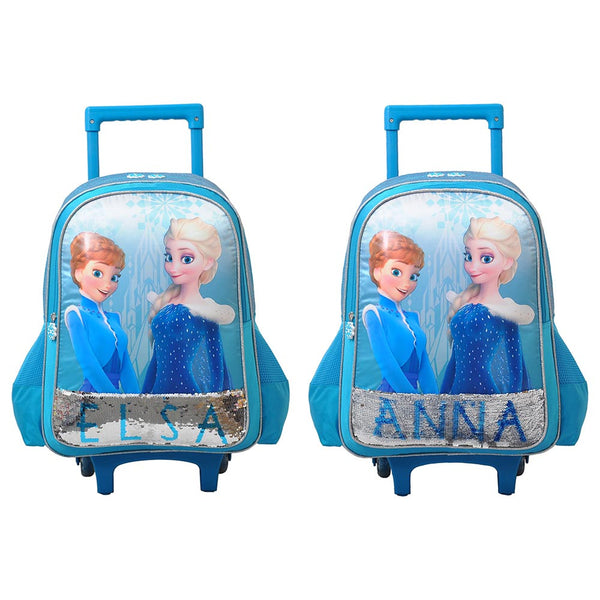 "Disney - Frozen Fun 16"" Trolley Bag Pack of 2 - Blue"